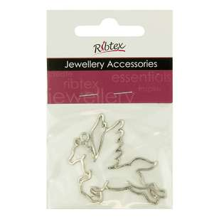 Ribtex Laser Unicorn Charm