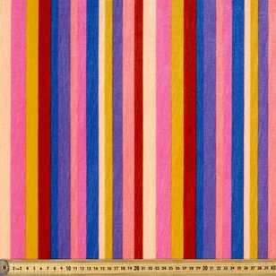 148 cm Striped Velvet Fabric