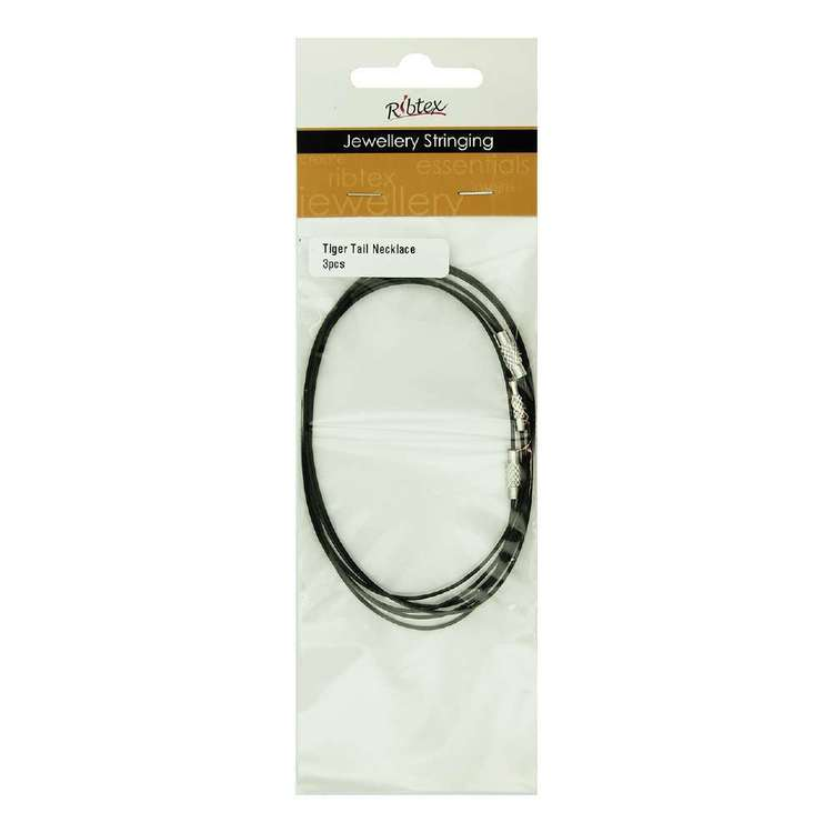 Ribtex Tiger Tail Necklace Cords