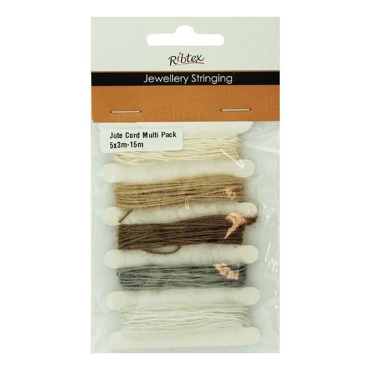 Ribtex Jute Cord Multi Pack