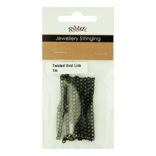 Ribtex Twisted Oval Link Chain