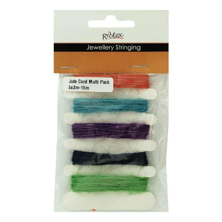 Ribtex Jute Cord 5 Pack