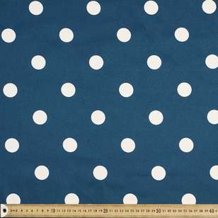 Spot Printed Cotton Sateen Fabric