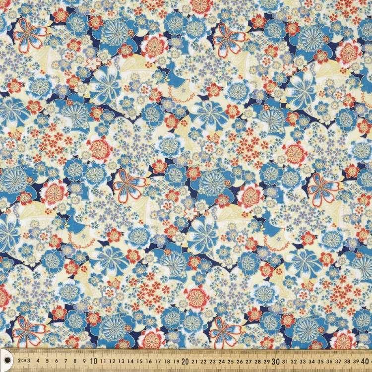 Yu Garden Printed Oriental TC Fabric