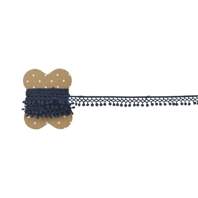 Mini Loops Cotton Lace