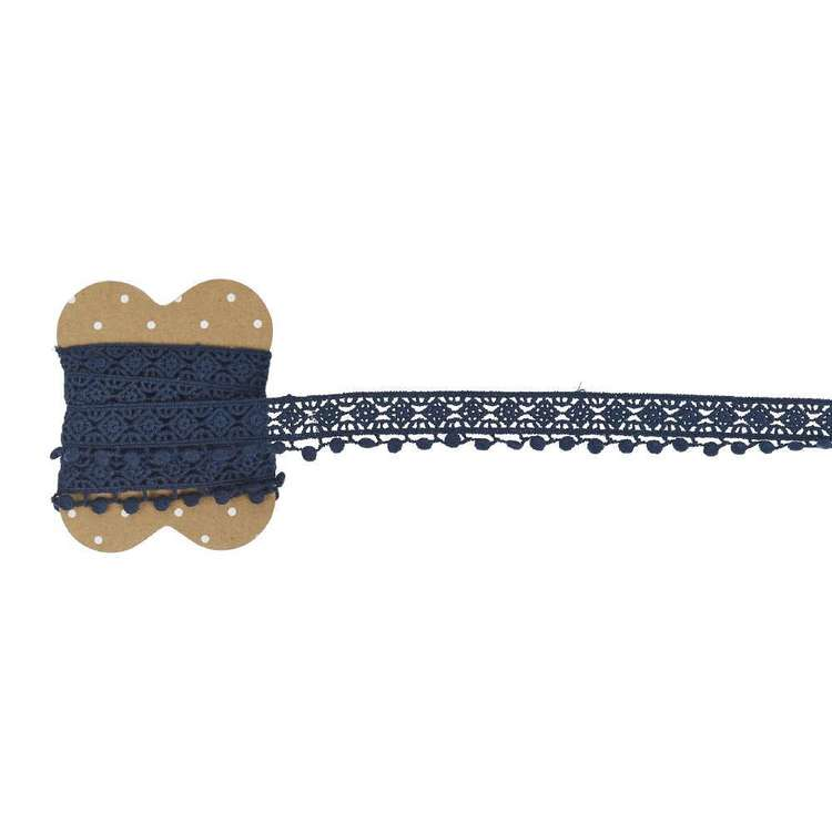 Cotton Lace Band With Circles