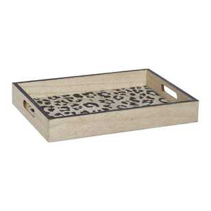 Ombre Home Animal Instinct Leopard Print Tray