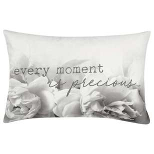 Bouclair Spring Bloom Flora Typo Cushion