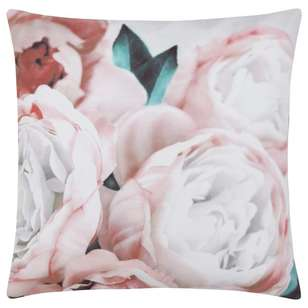Bouclair Spring Bloom Bouquet Printed Cushion