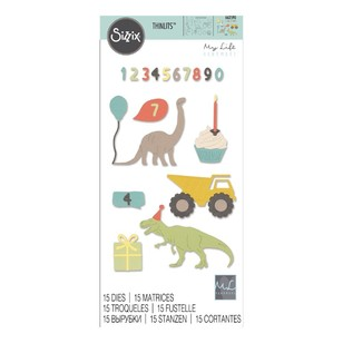 Sizzix Thinlits Birthday Boy Die Set