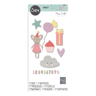 Sizzix Thinlits Birthday Girl Die Set