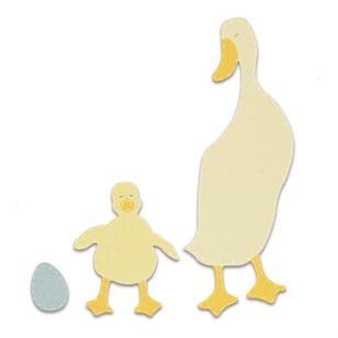 Sizzix Bigz Duck And Duckling Die