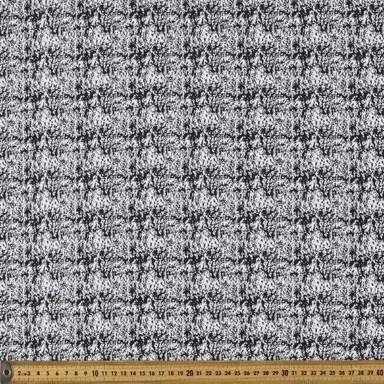Monotone Jacquard Mottled Printed 148 cm Knit Fabric