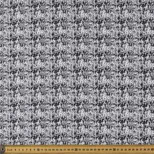 Monotone Jacquard Mottled Printed 148 cm Knit Fabric