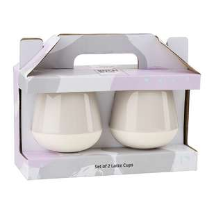 Kitch & Co Dip Liquorice Sherbet Latte Cups - Twin Pack