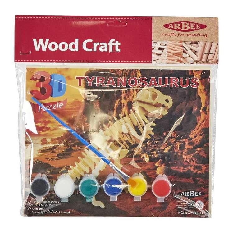 Arbee Tyrannosaurus Wooden 3D Puzzle