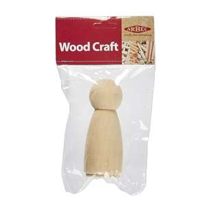 Arbee Wooden People Girl 1 Piece