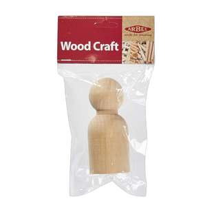 Arbee Wooden People Boy 1 Piece