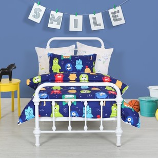 Ombre Blu Monster Mania Quilt Cover Set