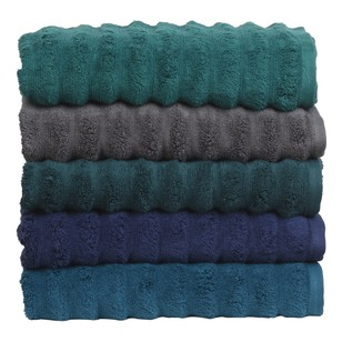 Luxury Living Wave Bath Towel