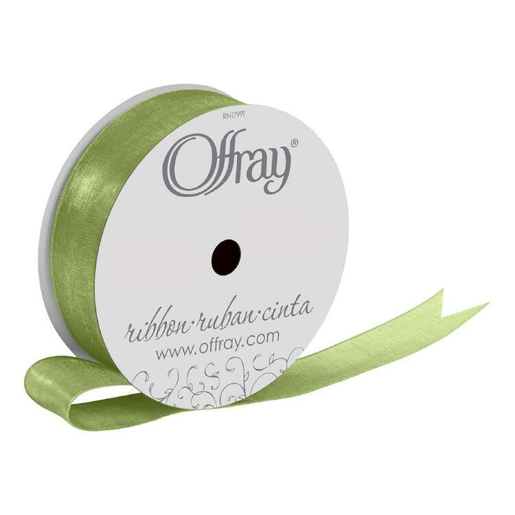 Offray Simply Sheer Machine Edge Ribbon
