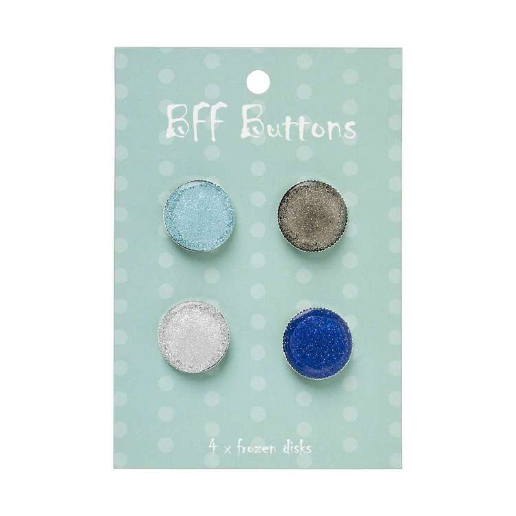 BFF Round Buttons 4 Pack