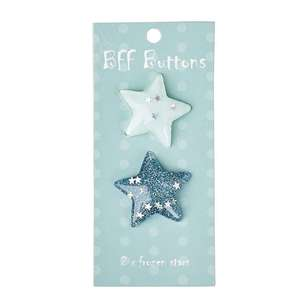 BFF Frozen Star Buttons 2 Pack