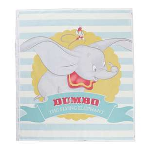 Dumbo Stripe Cotton Panel
