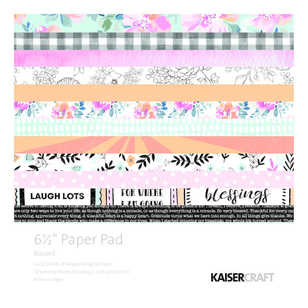 "Kaisercraft Blessed 6"" Paper Pad"