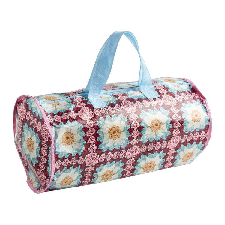 Sun Future Cylindrical Knitting Bag