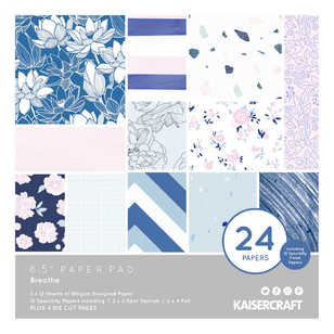 "Kaisercraft Breathe 6"" Paper Pad"