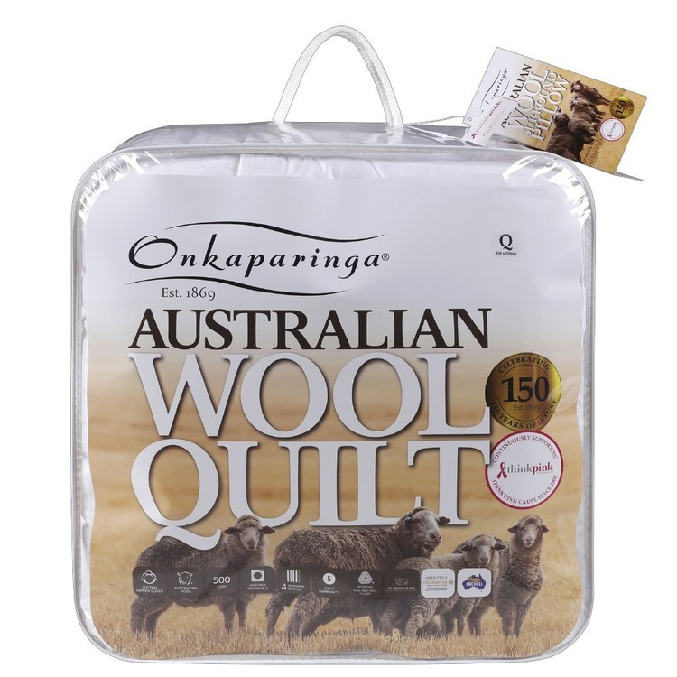 Onkaparinga Winter Wool Quilt