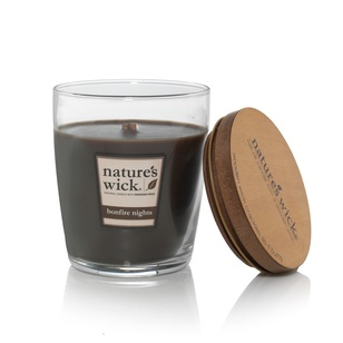 Nature's Wick Bonfire Nights Candle