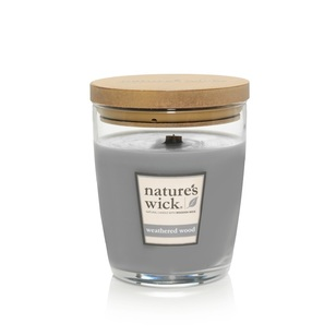 Nature's Wick Weathered Woods Candle