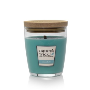 Nature's Wick Coastal Air Candle