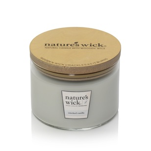 Nature's Wick Smoked Vanilla Candle