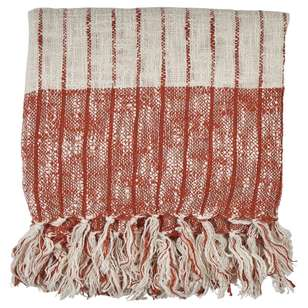 Ombre Home Desert Rose Cotton Slub Throw