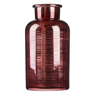 Ombre Home Desert Rose Metallic Vase