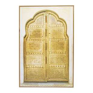 Cooper & Co Ornate Door Wooden Frame Print
