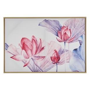Ombre Home Desert Rose Lily Canvas