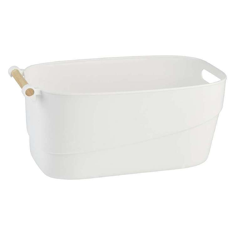 Lock Stock & Barrel Bucket with Wooden Handle
