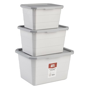 Hot Buy Plastic Containers - Set of 3