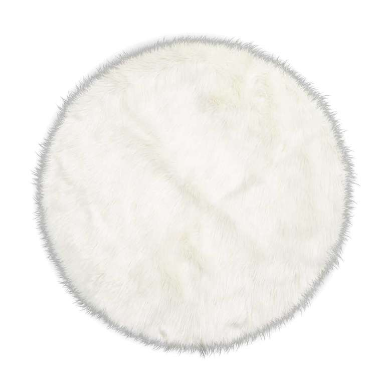 Hot Buy Tosca Round Faux Sheep Skin Rug