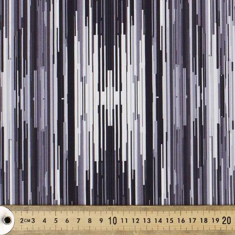Glitch Printed 148 cm Performance Stretch Fabric