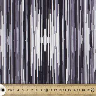 Glitch Printed 148 cm Performance Stretch Fabric