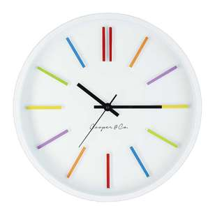 Cooper & Co Rainbow Clock