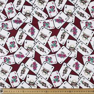 Lucky Printed Cotton Sateen Fabric