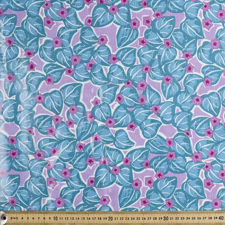 Ellie Whittaker Glory Fabric Lilac 150 cm