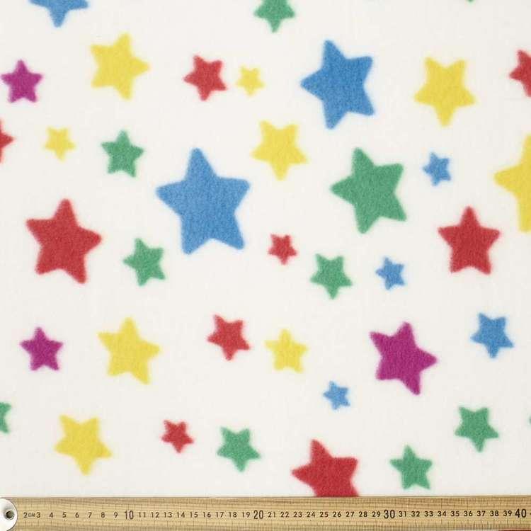 Bright Star Printed Peak Polar Fleece Fabric