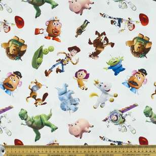 Disney Toy Story Toys Allover Cotton Fabric